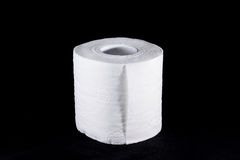 Toilet paper bathroom supplies hygiene Stock Photo