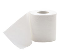 Toilet paper. Royalty Free Stock Images