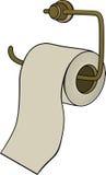 Toilet paper. Cartoon Stock Photo