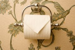 Toilet Paper Holder stock image