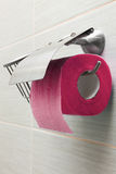 New toilet paper holder Stock Images