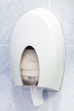 Toilet paper holder Stock Images