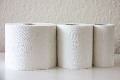 Toilet-paper household hygiene softness Royalty Free Stock Image