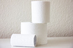 Toilet-paper household hygiene softness softy Stock Photos