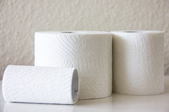 Toilet-paper household hygiene softness Royalty Free Stock Photo