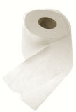 Toilet paper isolated Stock Image