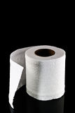 Toilet paper isolated Stock Photo
