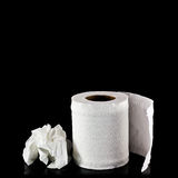 Toilet paper isolated Royalty Free Stock Photo
