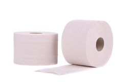 Toilet paper. Stock Images