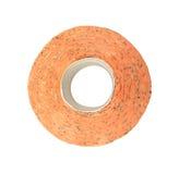 Toilet paper orange Royalty Free Stock Images