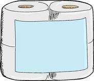 Toilet Paper Package Royalty Free Stock Images