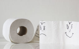 Toilet paper Royalty Free Stock Image