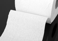 Toilet paper roll Stock Images