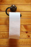Toilet Paper on Roll Royalty Free Stock Image