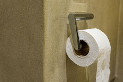 Toilet paper roll holder Royalty Free Stock Image