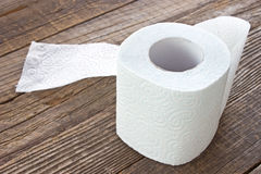 Toilet paper roll Royalty Free Stock Image