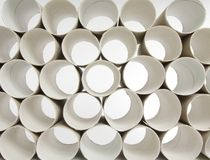 Toilet paper rolls Royalty Free Stock Photos