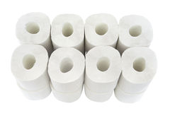 Toilet-paper rolls. Royalty Free Stock Photography