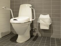 Toilet for people with disabilities Stock Photography