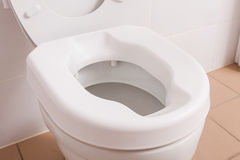 Toilet for people with disabilities Royalty Free Stock Images