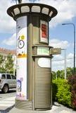Toilet, Praag, Tsjechische Republiek Stock Afbeeldingen