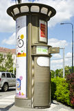 Toilet, Prague, Czech Republic Stock Images