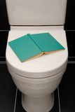 Toilet reading. Royalty Free Stock Photography