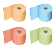 Toilet roll collection Stock Photography