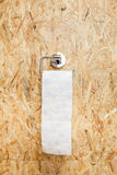 Toilet roll holder Royalty Free Stock Photography