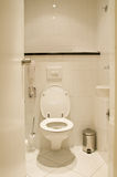 Toilet room. In white colour design Stock Photo