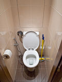Toilet room. In new house Stock Images
