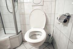 Toilet room interior Stock Photos
