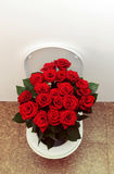 Toilet with roses Stock Photos