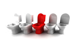 Toilet seat Royalty Free Stock Images