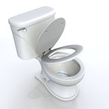 Toilet seat  Royalty Free Stock Photography