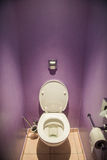 Toilet seat Stock Photography
