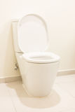 Toilet seat Stock Photo