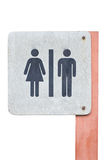 Toilet Sign. Royalty Free Stock Photography