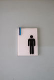 Toilet sign male Stock Photos