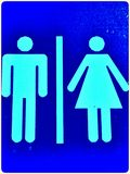 Toilet Sign Stock Images