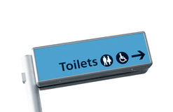 Toilet signs Royalty Free Stock Image