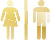 Toilet symbol illustration Stock Images