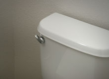 Toilet Tank Royalty Free Stock Photography