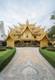 Toilet of Thai Art Taken from Wat Rong Khun,Thailand Royalty Free Stock Photography