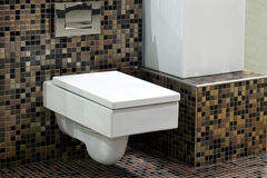Toilet and tiles 2 Stock Photos