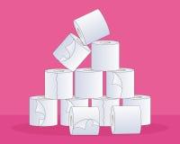 Toilet tissue Stock Photos