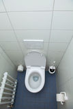 Toilet- top view Royalty Free Stock Images