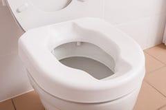 Toilet voor gehandicapte mensen Royalty-vrije Stock Afbeeldingen