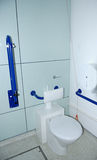 Toilet voor gehandicapten. Royalty-vrije Stock Foto's