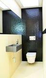 Toilet and wash basin royalty free stock photo